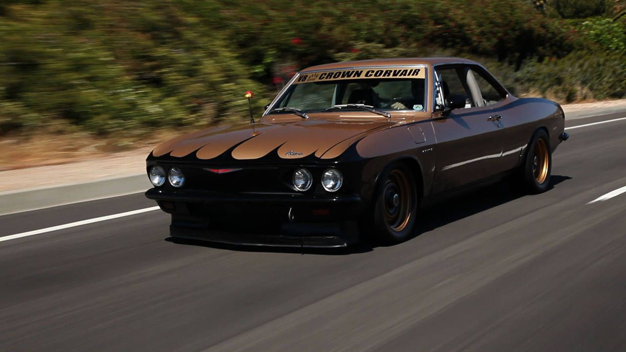 1965 Corvair proves the right V8 can fix anything