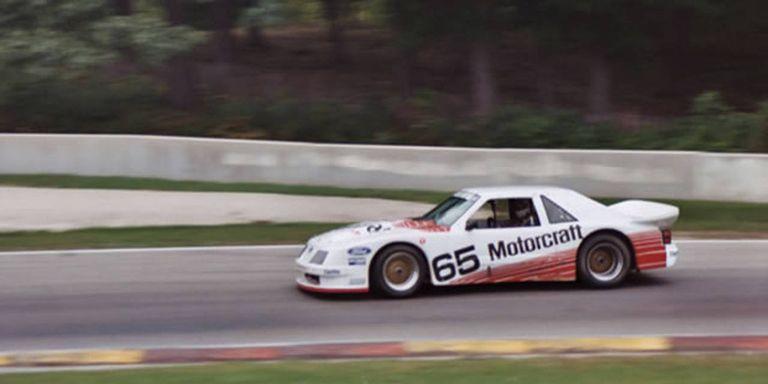 1985 Ford Mustang Fox Body Race In 2011 Video Of 85 Imsa