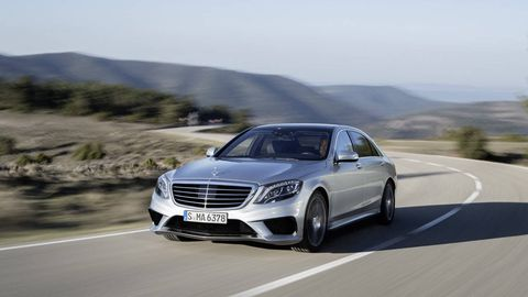 adeaeba79c0491 2014 Mercedes-Benz S63 AMG 4Matic - R T First Drives