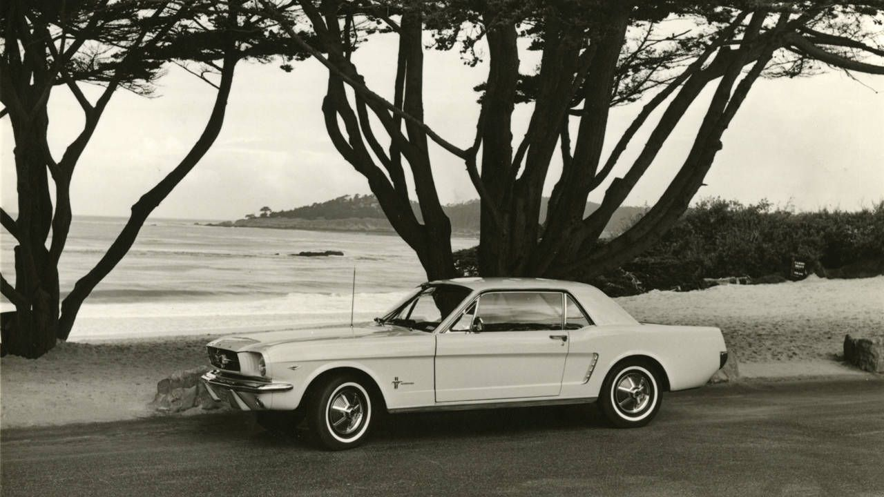 1965 ford mustang review first drive flashback