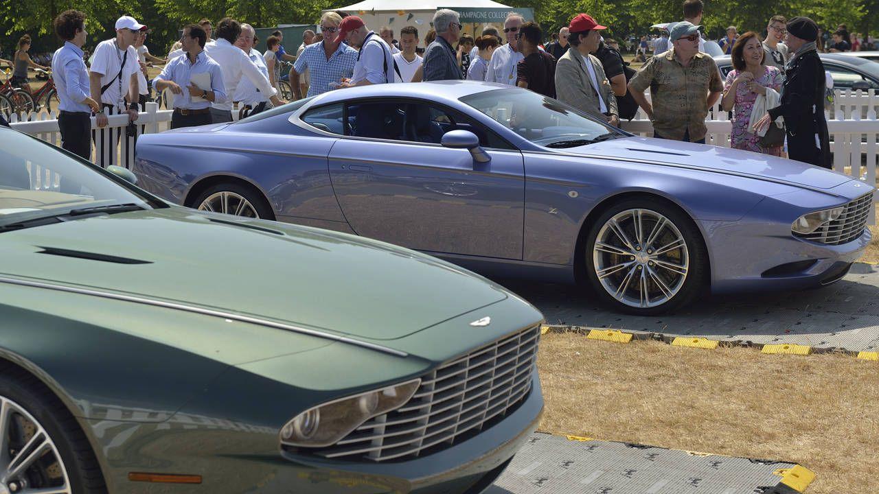 Zagato celebrates Aston's Centenary with a pair of coachbuilt customs