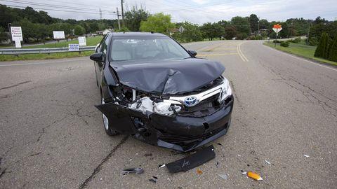 Zach Bowman Wrecks America S Best Selling Car Camry Hybrid Crash