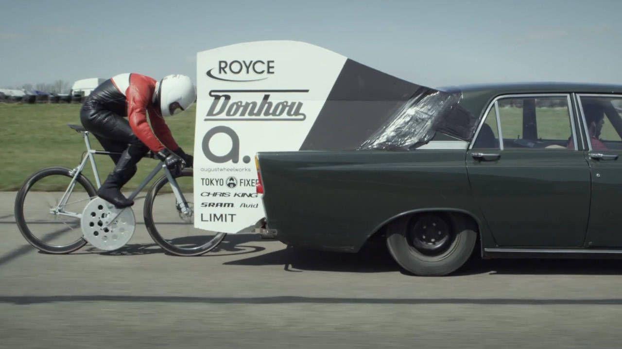 Tom Donhou's 102-mph bicycle