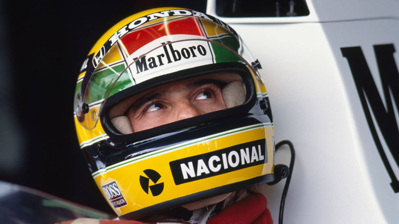 Honda resurrects Senna with brilliant AV display