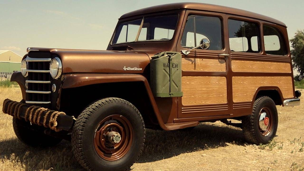 This Willys truck is the idealized postwar image of manliness