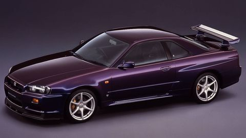The Final Rendition Of Gt R Before It Hit U S Ss Also Received Midnight Purple Iii Was Most Exotic