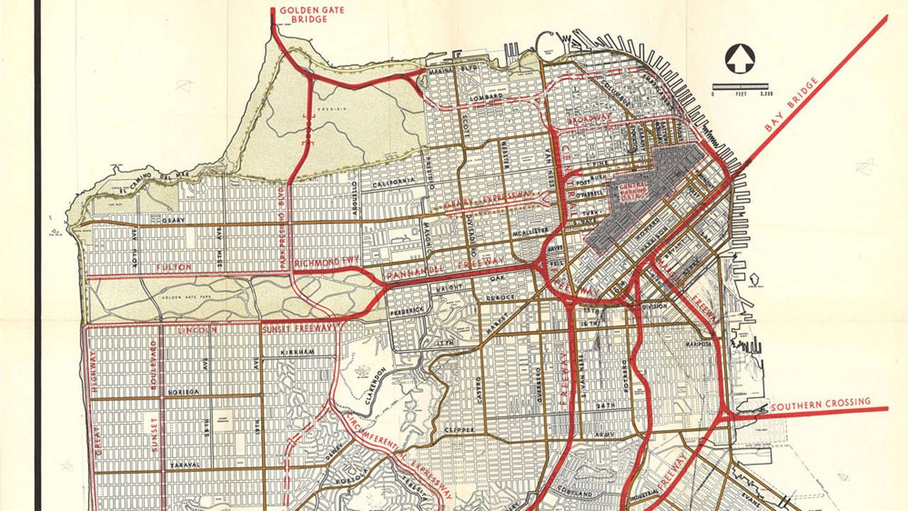 Maps of cities that never were