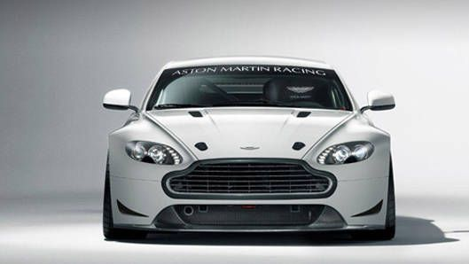 An Aston Martin GT4 at Zolder is better than coffee