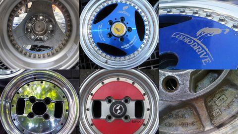 Rim, Alloy wheel, Automotive wheel system, Machine, Technology, Hubcap, Circle, Spoke, Symbol, Steel,