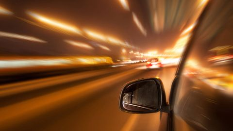 Automotive mirror, Mode of transport, Road, Brown, Automotive design, Yellow, Infrastructure, Glass, Automotive side-view mirror, Rear-view mirror,