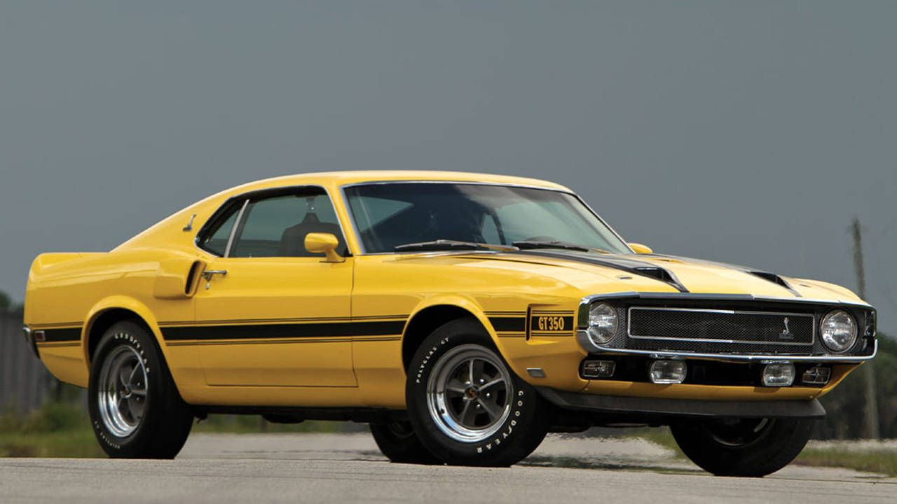 Buy this 1970 Shelby GT350 and a shirt to match