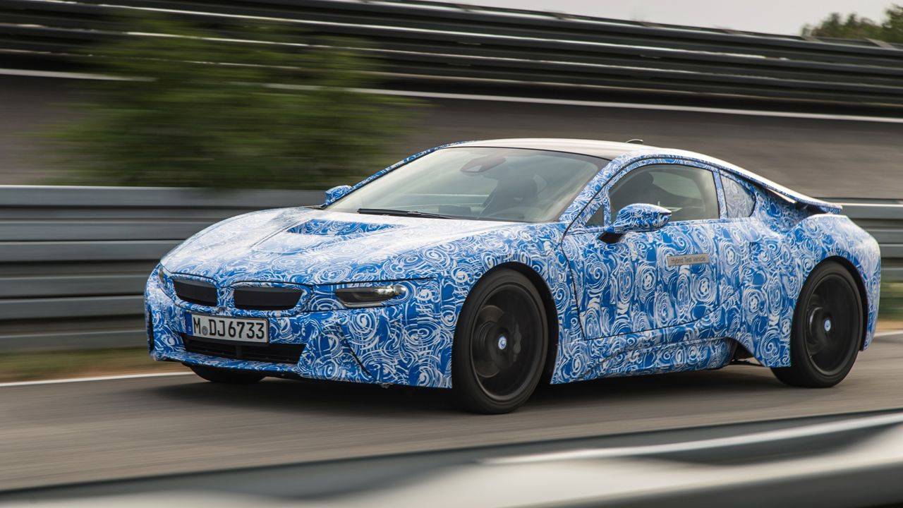 Five facts you need to know about the BMW i8