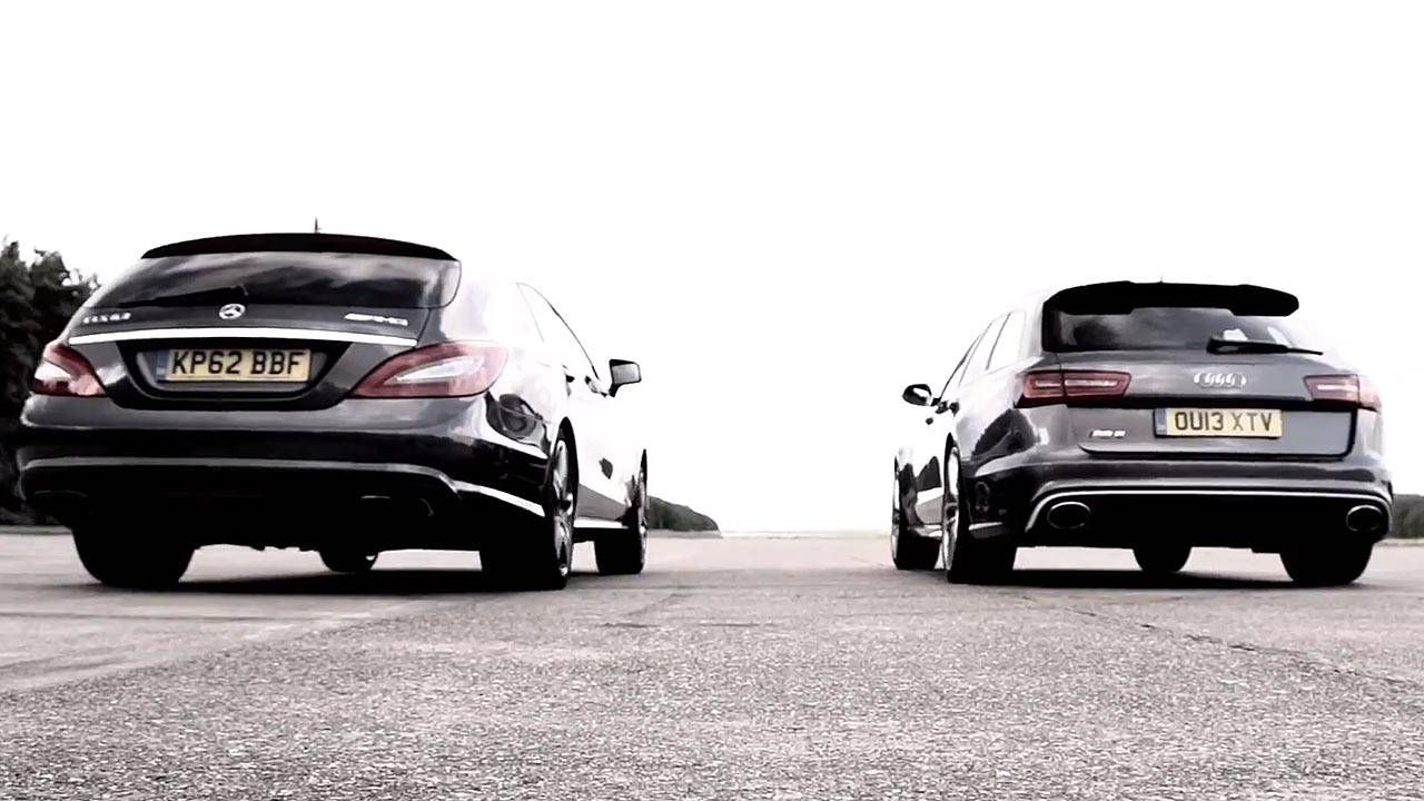 Chris Harris pits the Audi RS6 Avant against the Mercedes-Benz CLS 63 AMG