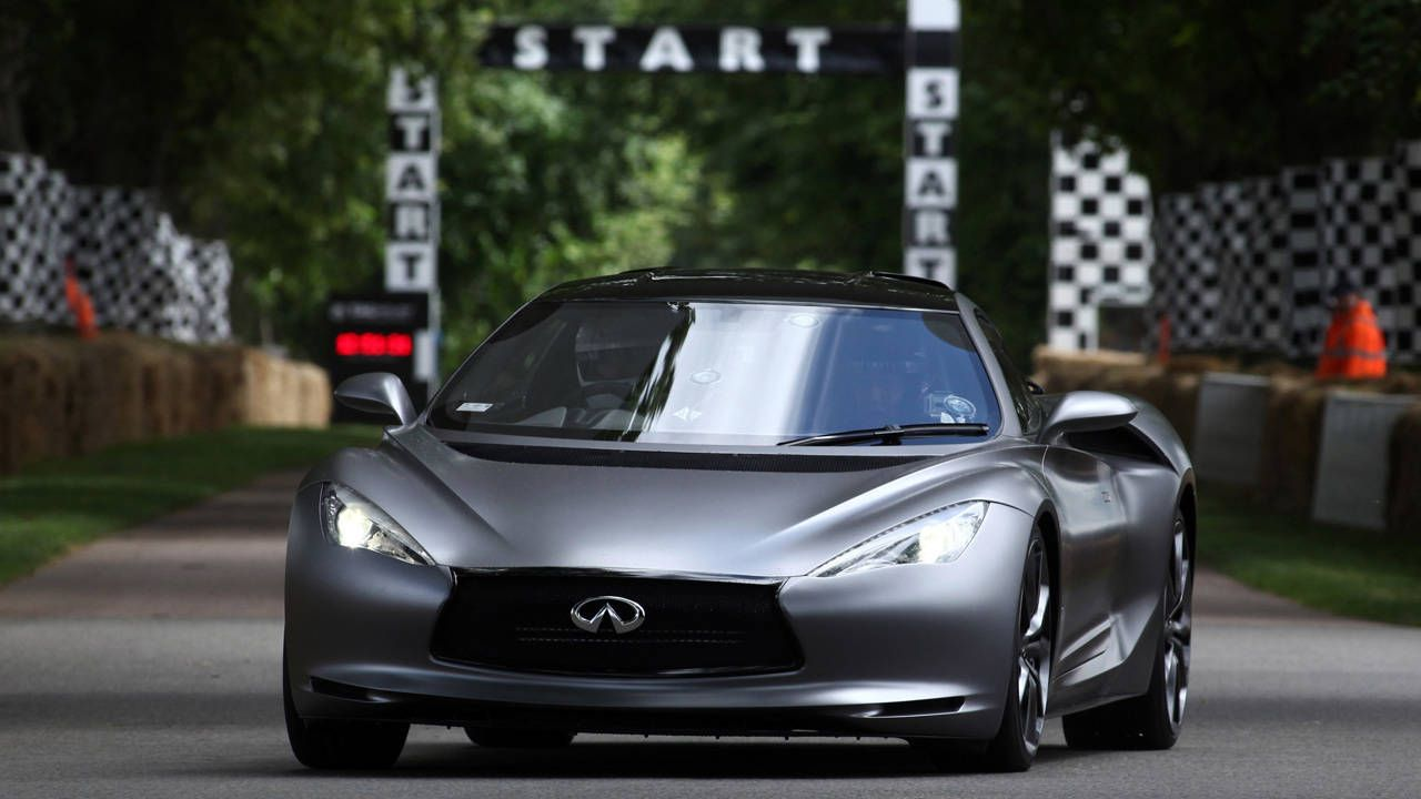 Infiniti supercar due within five years?