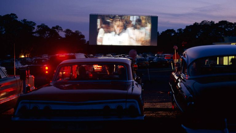 Honda wants to save the drive ins drive in theaters for Drive in movie theaters still open