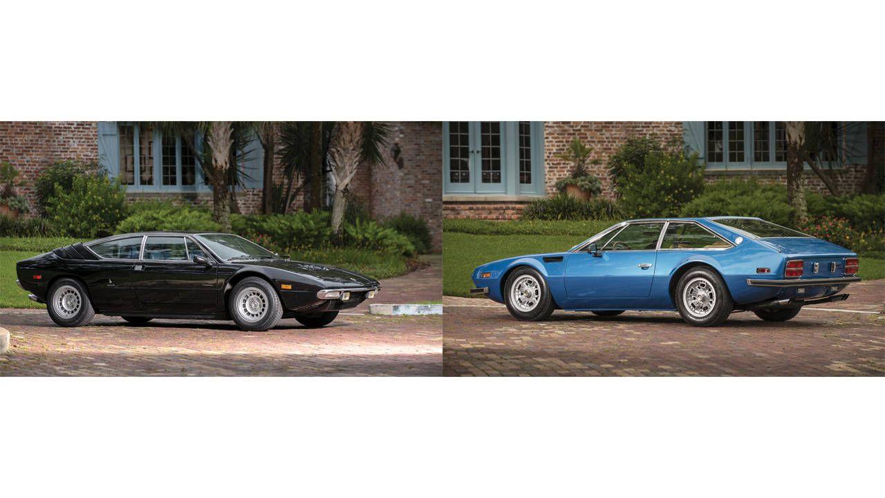Pebble Beach Auctions 2013: Lamborghini Urraco and Jarama