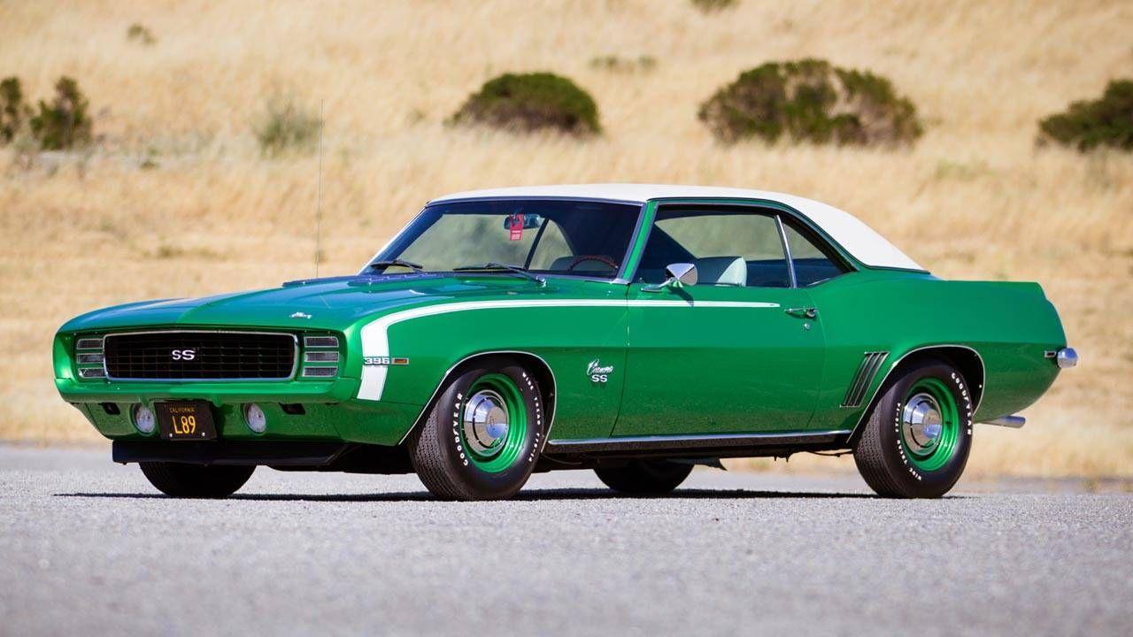 Pebble Beach Auctions 2013: 1969 Chevrolet Camaro 396 RS/SS L89
