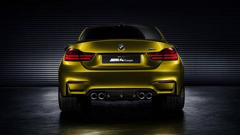Bmw M4 Coupe Concept Revealed Bmw M4 First Look
