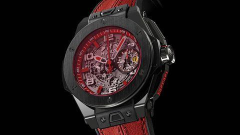 Product, Analog watch, Watch, Glass, Red, Watch accessory, Font, Carmine, Black, Grey,