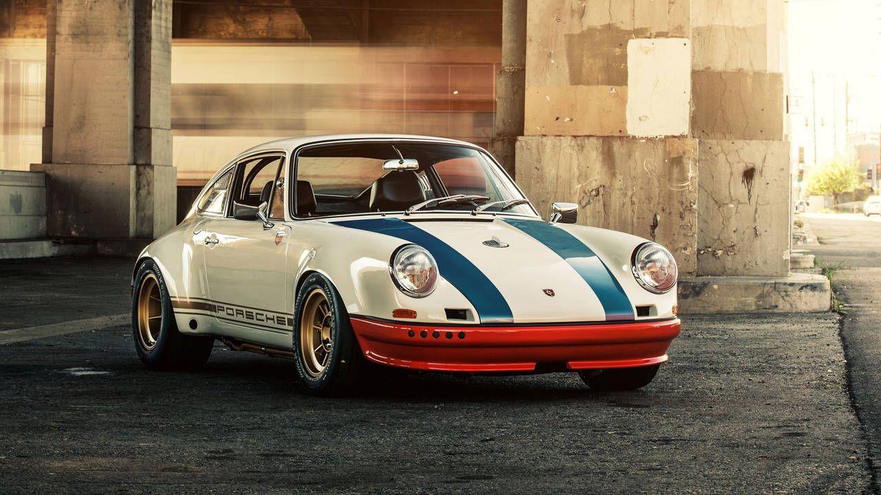 Pebble Beach 2013: 1972 Porsche 911 STR II