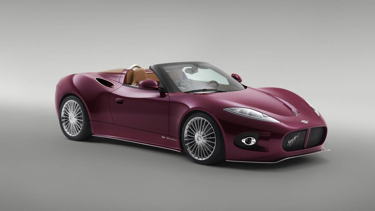 Spyker B6 Venator Concept – News – Car and Driver