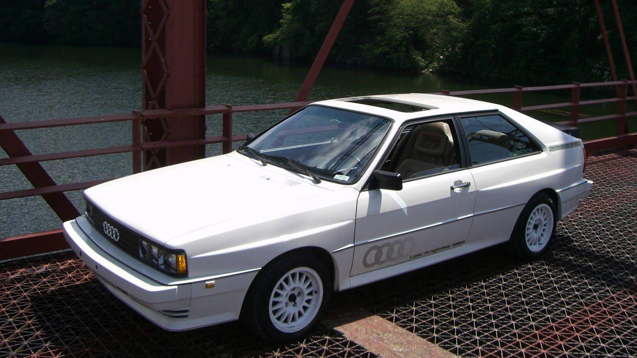 1984 Audi Quattro Auction  Russo and Steele Audi UrQuattro