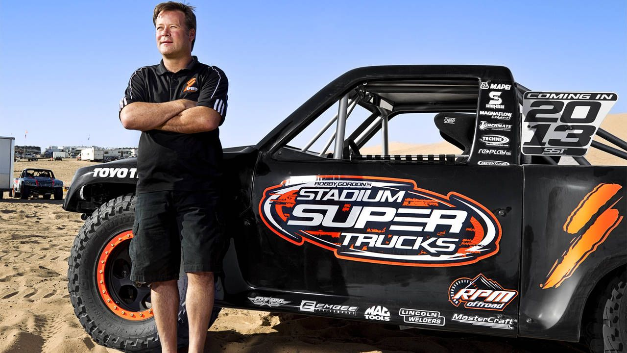 F***ing Robby Gordon: The King of Sand