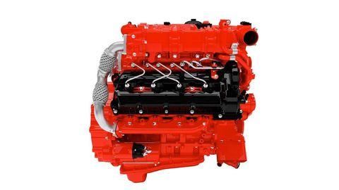 Red, Automotive lighting, Machine, Engine, Transmission part, Automotive engine part, Toy, Coquelicot, Plastic, Motorcycle accessories,