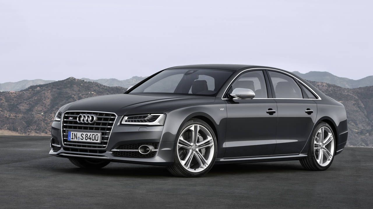 The 2015 Audi A8 and S8 get a warming over