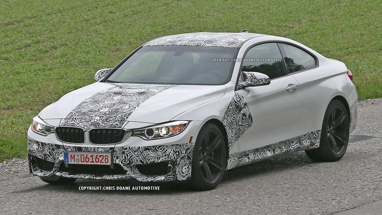BMW M3 and M4 spied