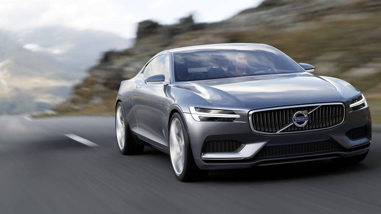 This is the Volvo Concept Coupe