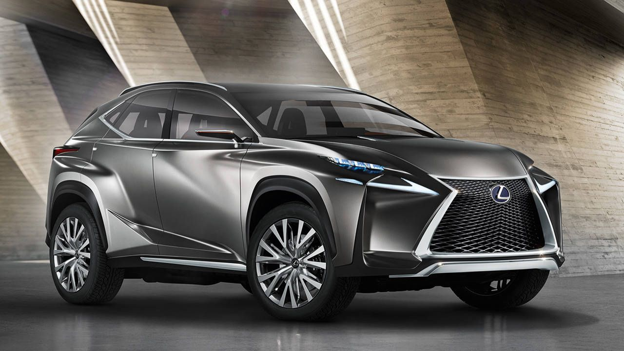 Lexus LF-NX concept previews new compact crossover