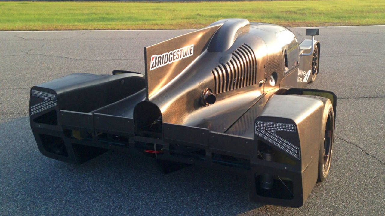 DeltaWing coupe makes track test debut ahead of Austin ALMS race