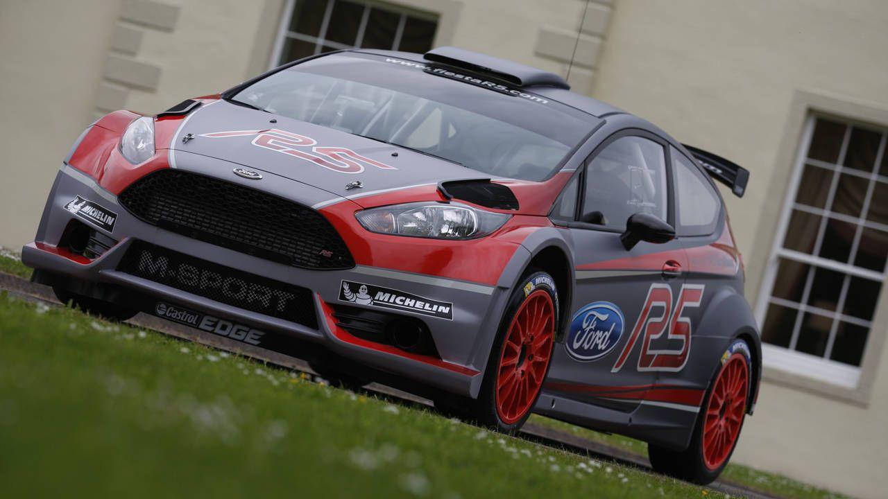 Meet the new M-Sport Ford Fiesta R5 rally car