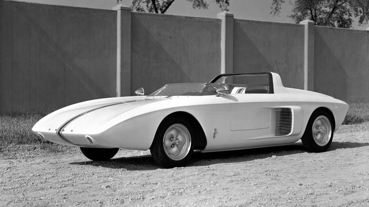 Watch this video about the original Mustang concept car