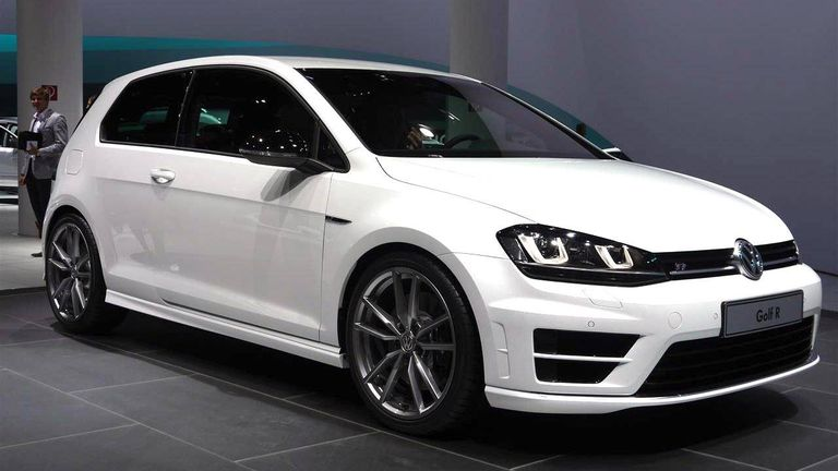 If The Volkswagen Golf GTI Is Poster Child For Lovable European Hatches R Its Sinister Twin Engineers Crammed An Extra 30 Horsepower And
