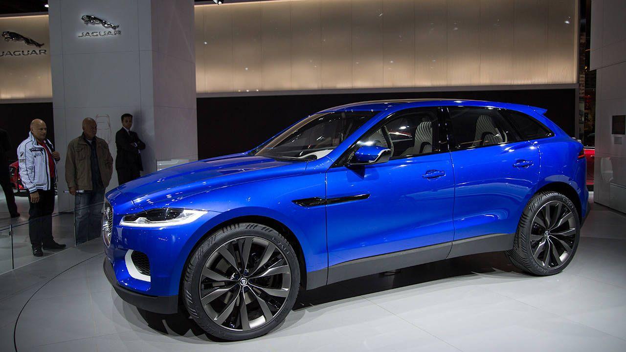 Jaguar drops details on the C-X17 SUV