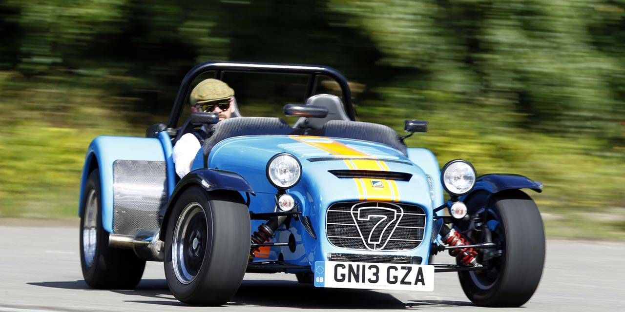 First drive of the manic Caterham Seven 620R