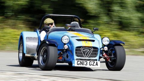 Caterham Seven 620r First Drive First Drive Review Supercharged