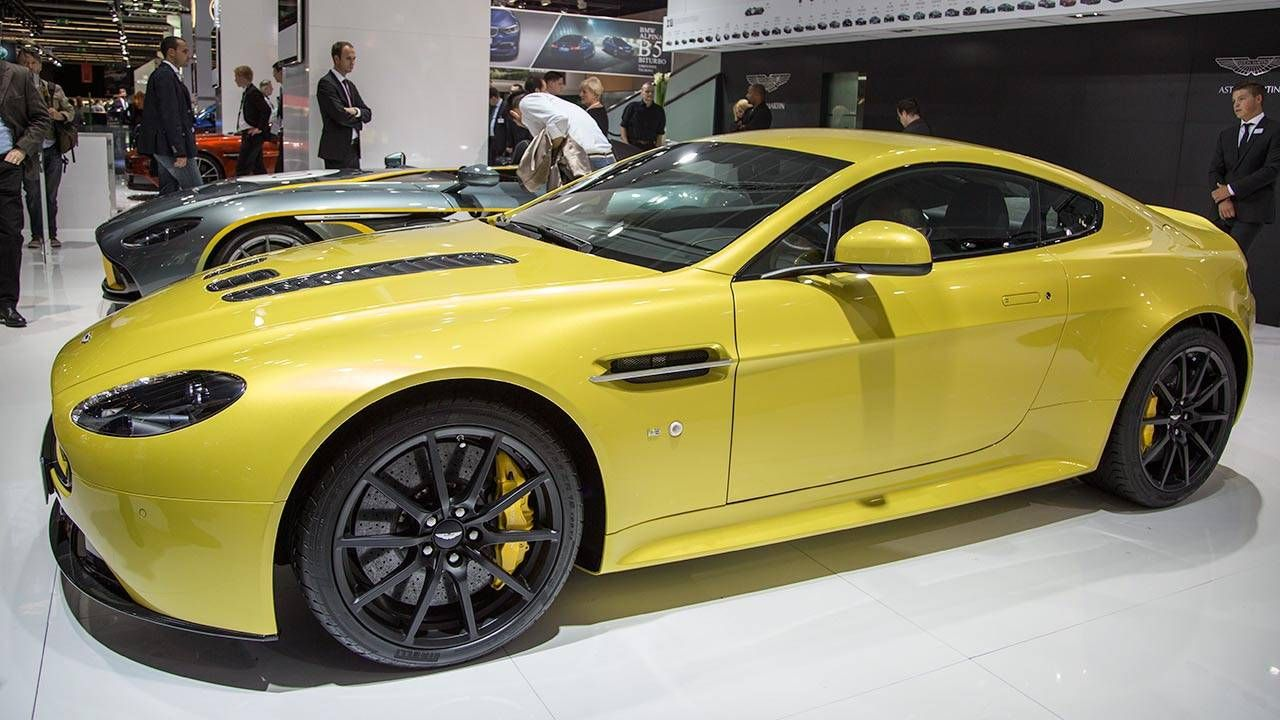 The Aston Martin V12 Vantage S is the quickest of them all