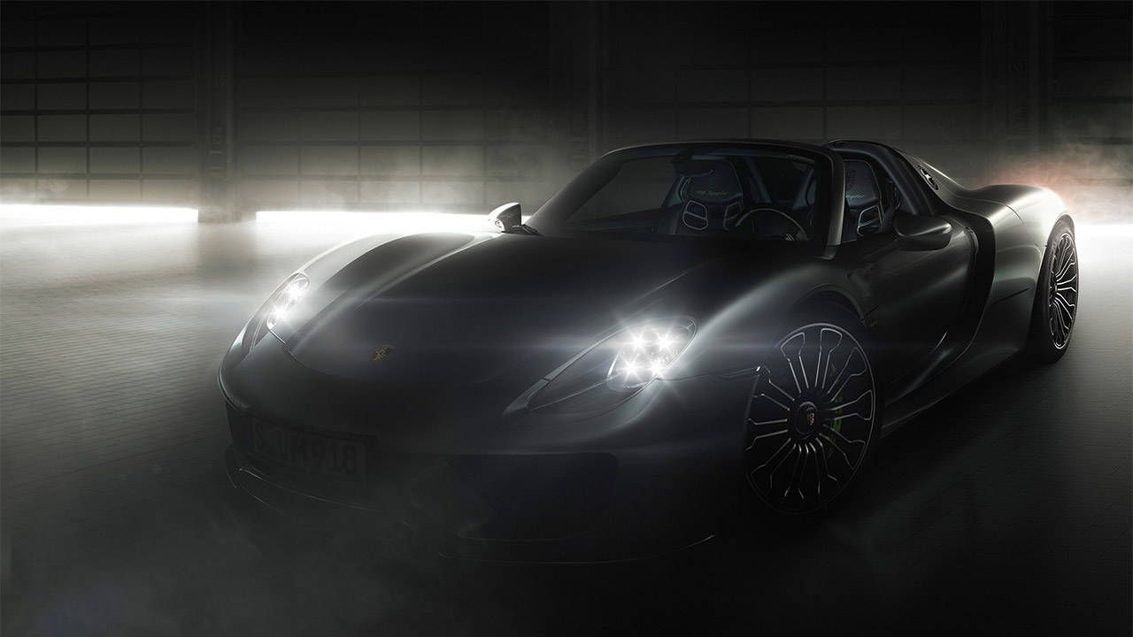 Watch the Porsche 918 clock at 6:57 at the 'Ring