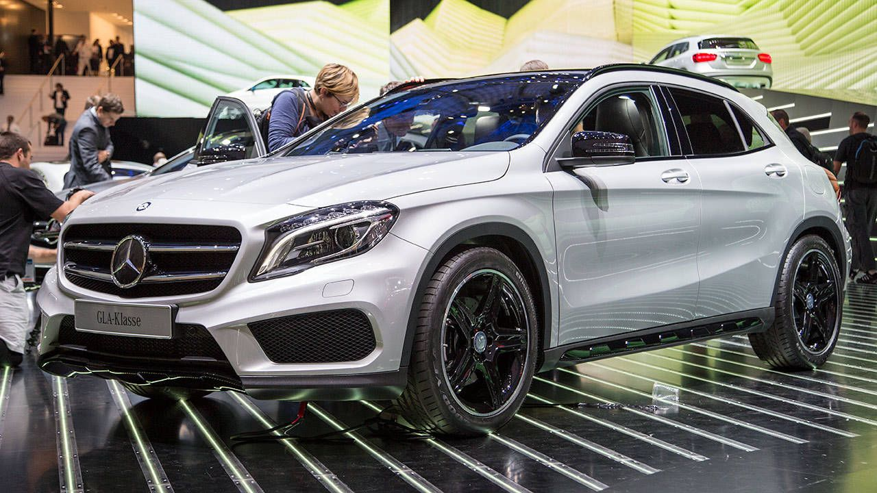The GLA 250 is the new baby SUV from Mercedes-Benz