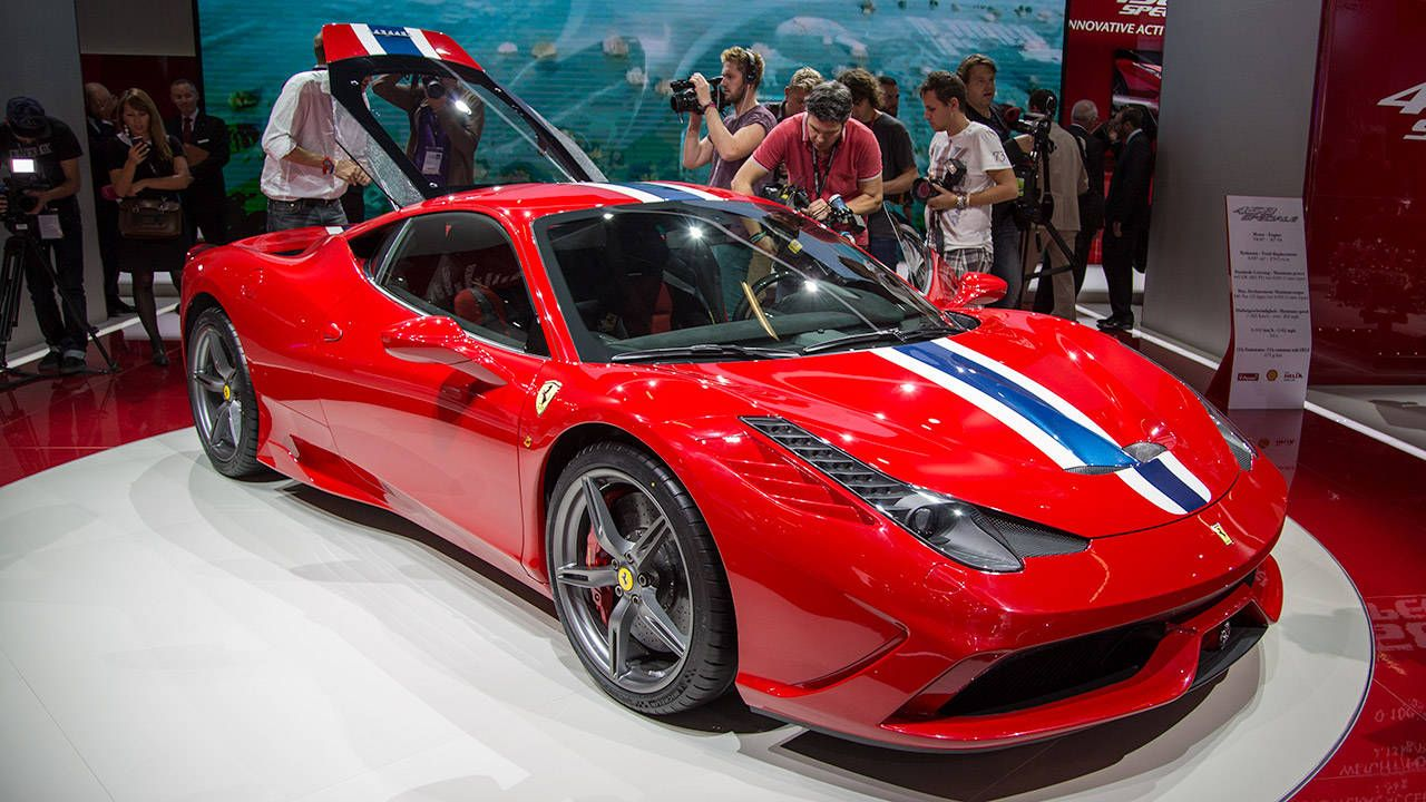 The Ferrari 458 Speciale is, in fact, special
