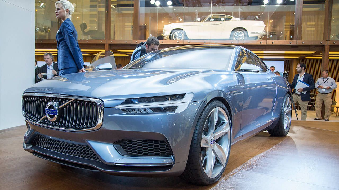 The Volvo Concept Coupe is downright gorgeous