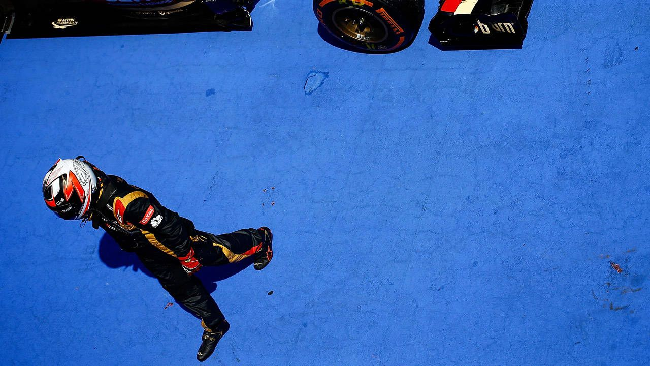 Lotus F1 reacts to Kimi Raikkonen's departure