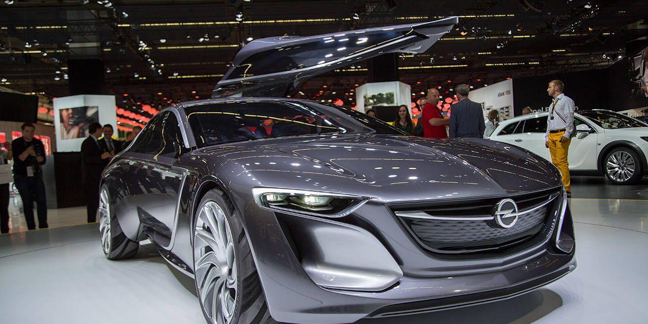 Slideshow: Opel Monza concept