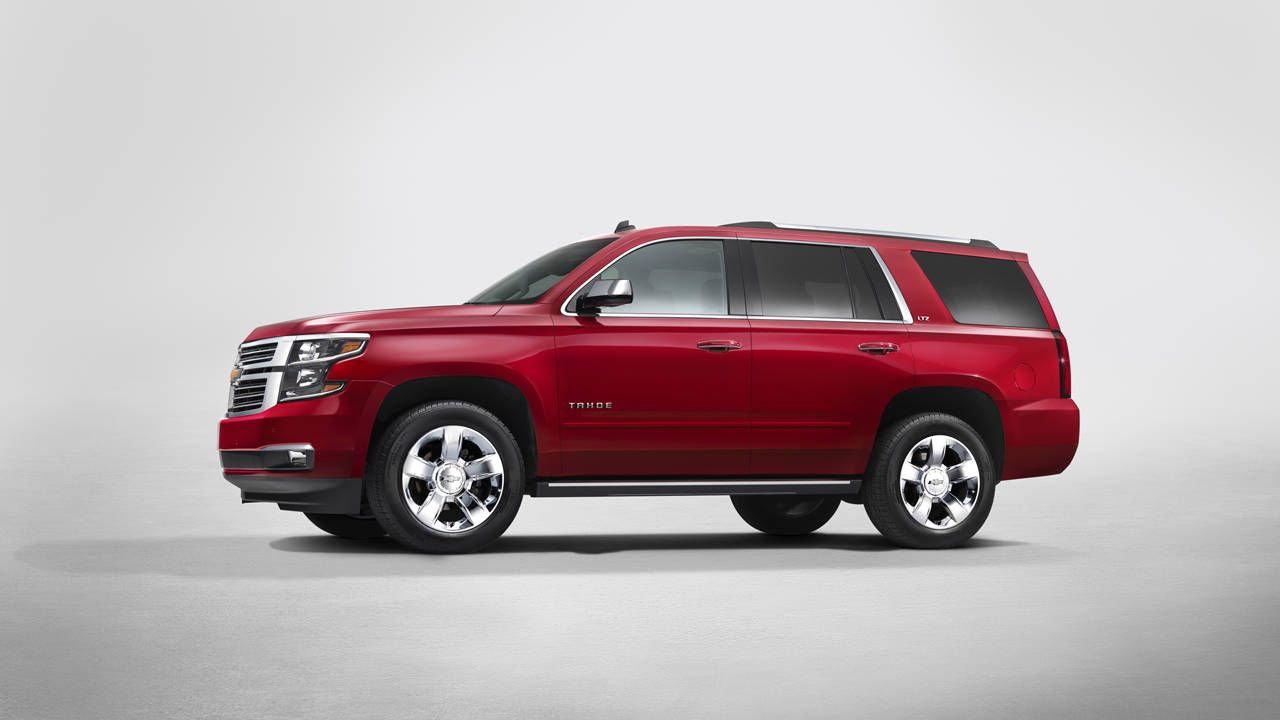 Here's the 2015 Chevrolet Suburban and Tahoe
