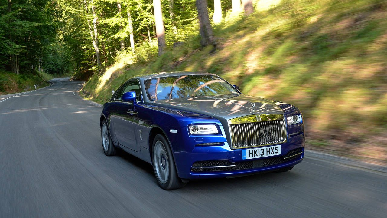 First Drive: Rolls Royce Wraith