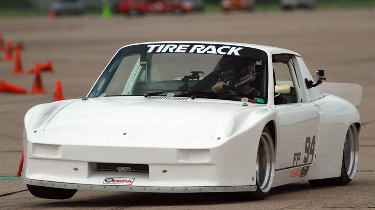 This 911-powered Porsche 914/6 is better than coffee