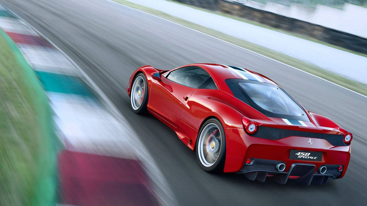 the ferrari 458 speciale sounds amazing - hear it on video